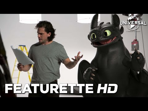 CÓMO ENTRENAR A TU DRAGÓN 3 - Casting de Kit Harington con Desdentao