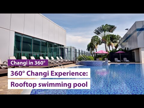 The Rooftop Swimming Pool 360° Changi Experience