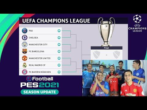 COMEÇOU A COPA RIKINHO UEFA CHAMPIONS LEAGUE! PSG x CHELSEA PES 2021 JOGO 1 ‹ Rikinho ›