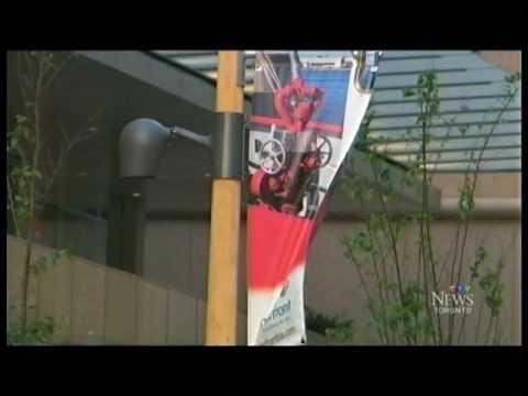 Outdoor Photo Exhibit CTV 11pm News September 3, 2015