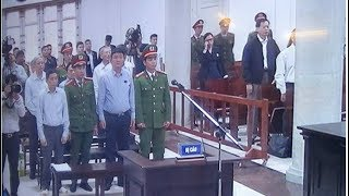 Đinh La Thăng trong ngày đầu xét xử vụ án góp 800 tỷ đồng vào Oceanbank