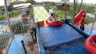 Half Pipe Water Slide at Thermas dos Laranjais