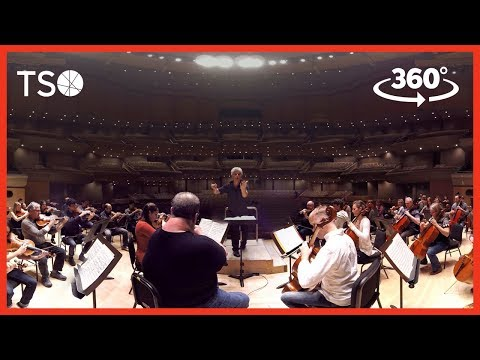 Video: 360 degree video - Step on stage with the TSO