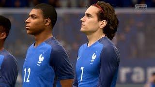 FIFA 18   France vs Germany - Full Gameplay (PS4/Xbox One)