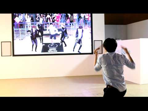 SM Art Exhibition - Carter & EXO  (Genie Dance)