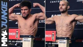 UFC 238: Henry Cejudo vs. Marlon Moraes official weigh-in highlight