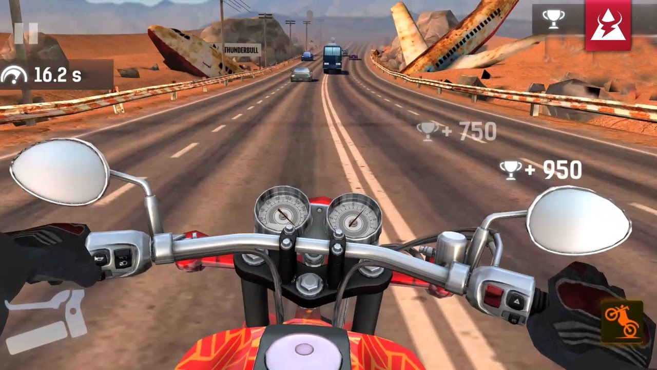 Play Moto Rider GO: Highway Traffic on PC 2