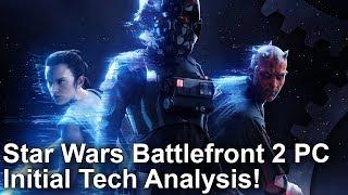 Star Wars Battlefront 2 - PC Béta Elemzés