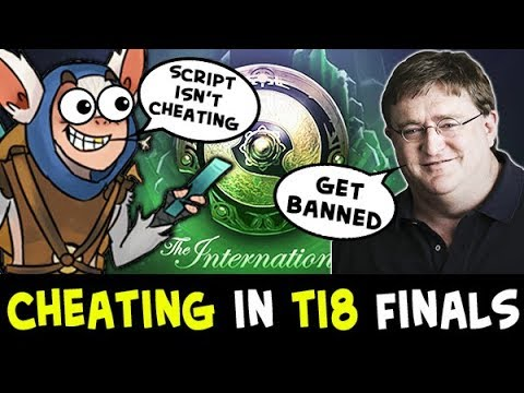 CHEATING on The International 2018 — Valve BANS from quali FINALS