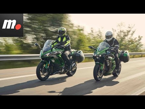 Comparativo Kawasaki H2 SX SE vs Z 1000 SX  / Review en español | motos.net