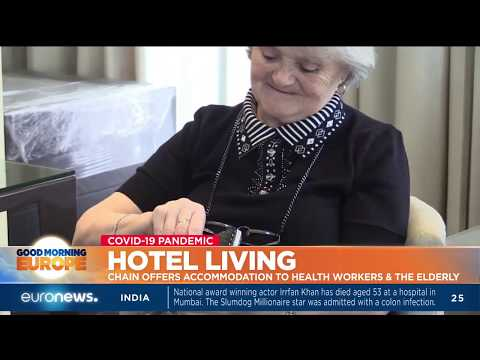 Hotel chain offers accomodation to health workers and the elderly photo