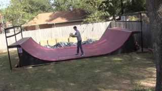 Backyard Halfpipe