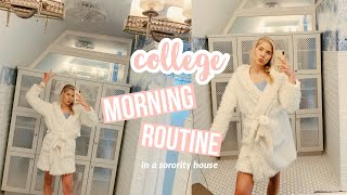 College Morning Routine // Sorority House Edition