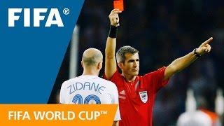 The referee who sent off Zinedine Zidane | Horacio Elizondo 2006 World Cup Final