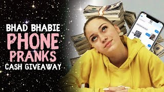 BHAD BHABIE Phone Pranks & $5000 Cash Giveaway | Danielle Bregoli