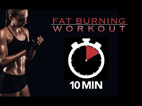 10 Minute FAT LOSS Workout At Home (STRONG & LEAN!!)