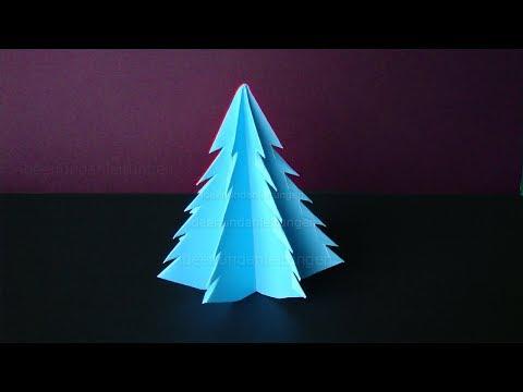 Weihnachtsdeko selber machen: Weihnachtsbaum basteln für Weihnachten - Weihnachtsbasteln