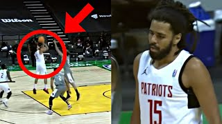 J Cole 3rd Game FULL HIGHLIGHTS In The African League (Ft. All Plays)