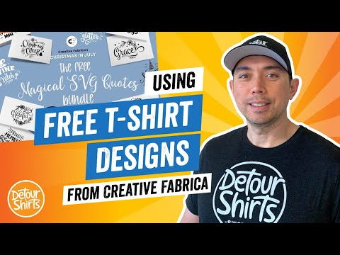 Download FREE TShirt Designs. Get Commercial Use Graphics for Print on Demand from Creative Fabrica.