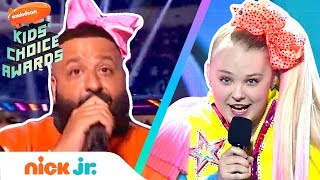 JoJo Siwa's Dance Game w/ DJ Khaled at 2019 Kids' Choice Awards | Nick Jr.