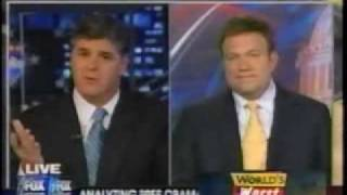 Sean Hannity caught in a blatant lie