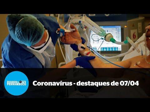 A pandemia em Pernambuco - destaques de 7 de abril