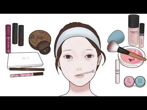 화장하기 스톱모션 | Make up Stop Motion | A WAY