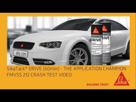 SikaTack® DRIVE (60 min.) - Lasiliimauksen mestari henkilöautoihin