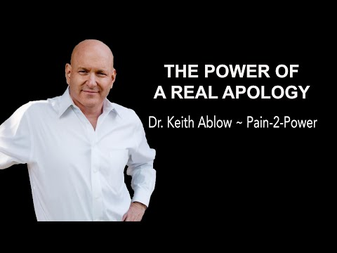 The Power of a Real Apology