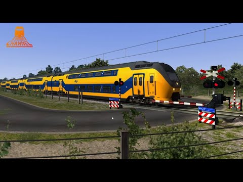 TRAIN SIMULATOR - Dutch Railroad Crossing - COHA nl - ChrisTrains NS VIRM photo