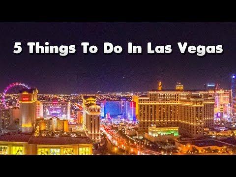 5 Things To Do In Las Vegas