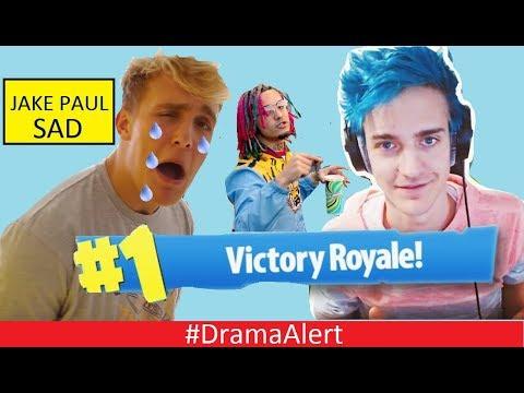 Jake Paul CRIES for ATTENTION (NINJA) #DramaAlert FaZe Ricegum - lil Pump - YouTube BROKEN!