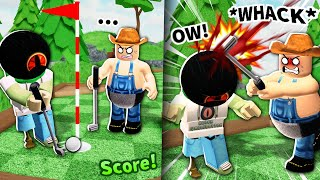 He beat me in this Roblox game... so I beat his skull