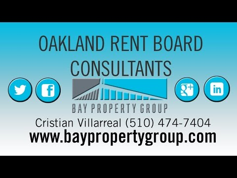 Oakland Rent Board Consultant Services by Bay Property Group