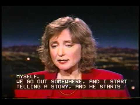 Tom Snyder with Deborah Tannen - Part 1 (Captioned) - YouTube