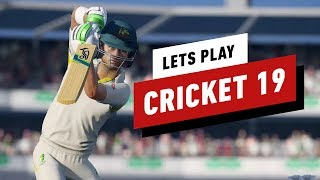 40 Minutes of Cricket 19 Gameplay - IGN Plays - YouTube
