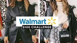 $100 CHALLENGE: WALMART THANKSGIVING OUTFITS (STYLING TIPS)
