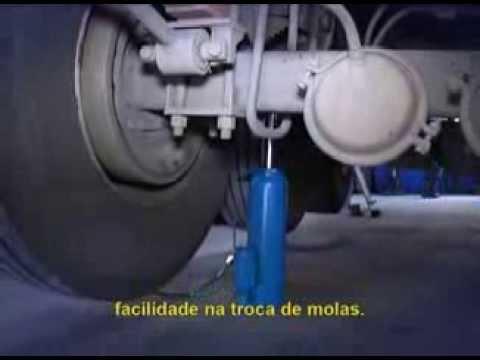 Macaco Hidropneumático para Moleiro 30 Toneladas Mtpm30 Bovenau - Vídeo explicativo