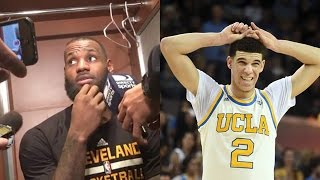 LeBron James WARNS Lonzo Ball's Dad LaVar: