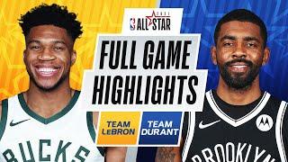 #TeamLeBron vs. #TeamDurant | FULL GAME HIGHLIGHTS | 2021 #NBAAllStar
