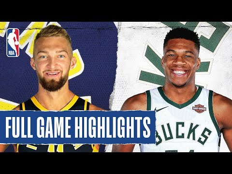 PACERS at BUCKS | FULL GAME HIGHLIGHTS | December 22, 2019
