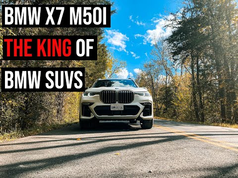 2020 BMW X7 M50i  with 523 HP - Sound, Acceleration, Features and Design Review