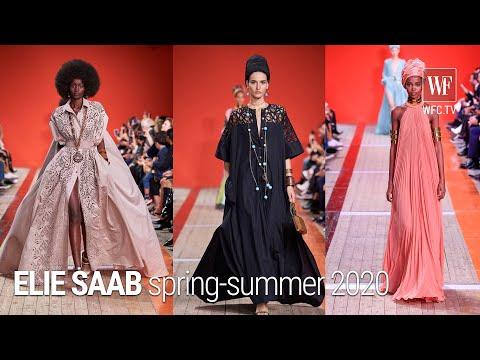 Elie Saab spring-summer 2020 Paris fashion week