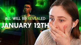 They're making a ghost pack for The Sims 4...