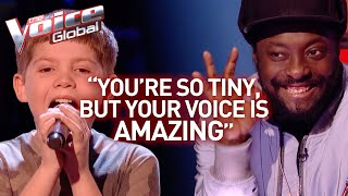 12-Year-Old AMAZES the coaches with his BIG voice in The Voice Kids | Journey #37