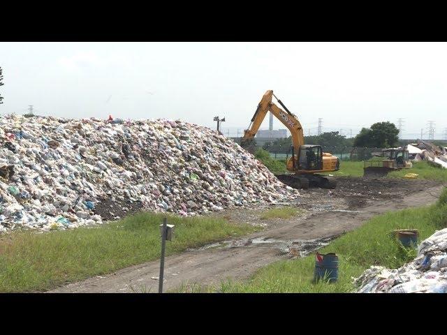 掩埋場停用 西螺2萬噸垃圾堆成山