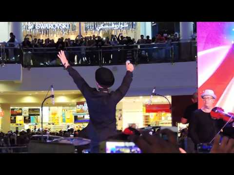 Saad lamjarred @ Deira City Center Dubai
