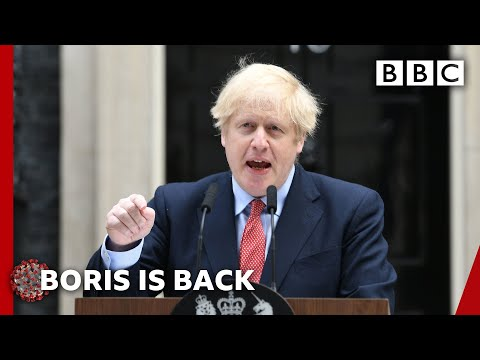 Coronavirus: Boris Johnson 'I refuse to risk second peak of infections' - BBC