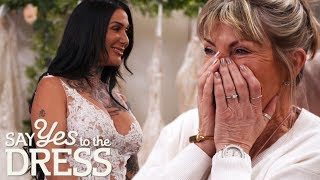 Bride Tries On A COMPLETELY See Through Wedding Dress!   Say Yes To The Dress Lancashire