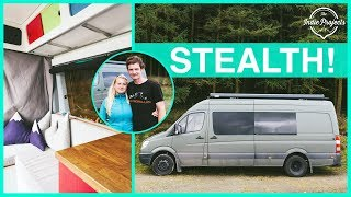 They Built a Crazy Amazing Adventure Sprinter Van - Van Tour